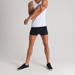 Pantaloncino sportivo da uomo arena A-One con spacchetto laterale - 002229550/XL