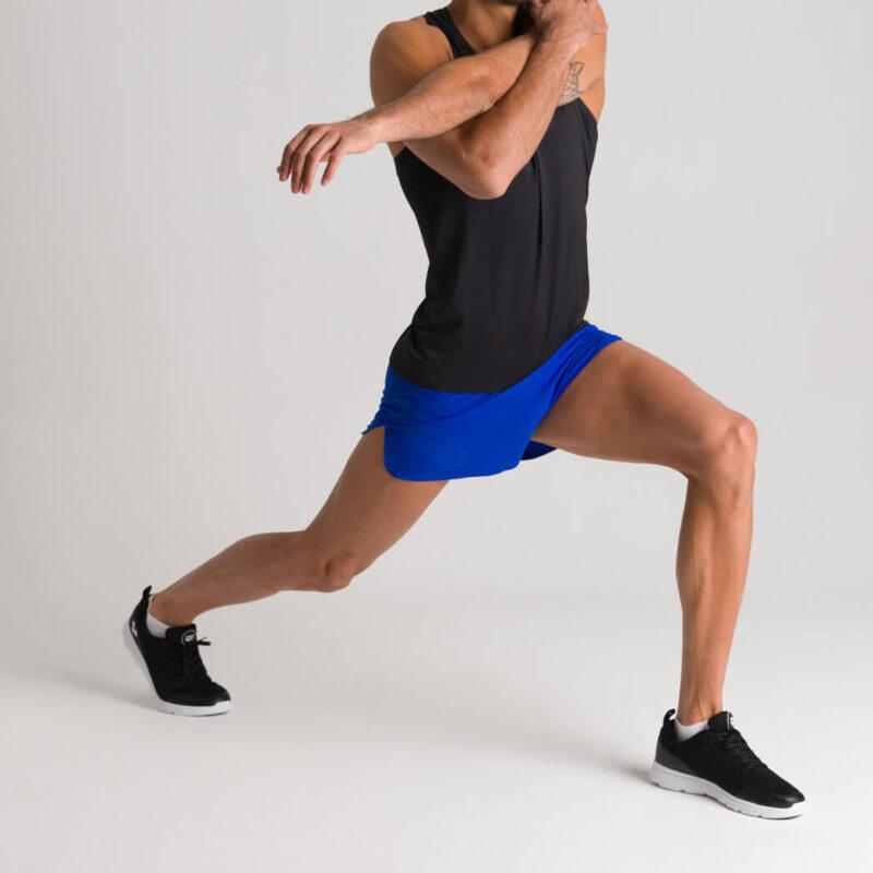 Pantaloncino sportivo da uomo arena A-One con spacchetto laterale - 002229770/XL