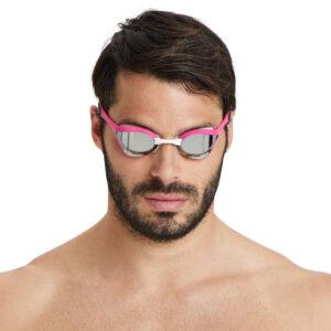 Occhialini da gara unisex arena Cobra Ultra Swipe Mirror - 002507590/TU