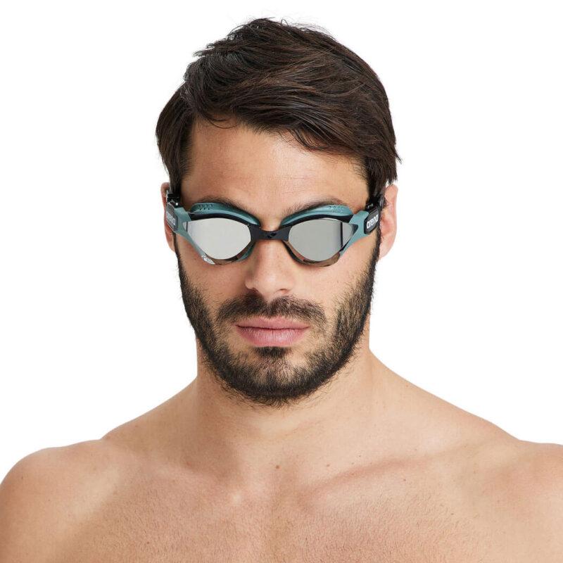 Occhialini unisex da triathlon arena Cobra Tri Swipe Mirror - 002508560/TU
